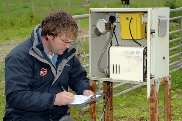 Public Health Photograph - Air Quality Monitoring by Public Health England