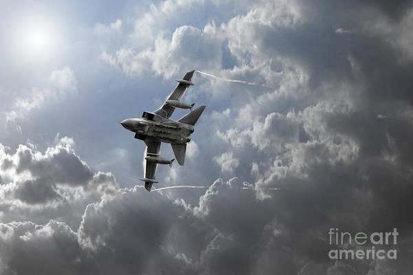 Tornado Digital Art - Air Superiority by J Biggadike