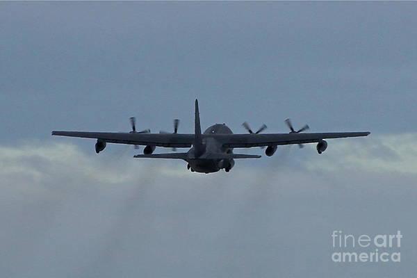 C 130 Photograph - Airborne by Rick  Monyahan