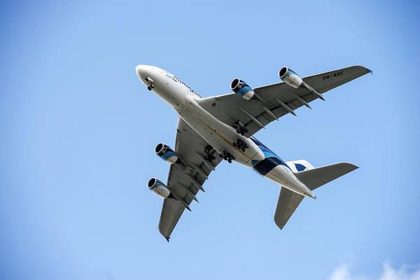 Airbus A380 Wall Art - Photograph - Airbus A380 by Daniel Sambraus/science Photo Library