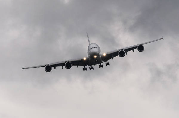 Airbus A380 Wall Art - Photograph - Airbus A380 by Dutourdumonde Photography