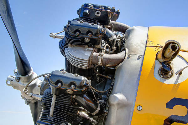 Wall Art - Photograph - Aircraft Engine 3 by Daniel Hagerman