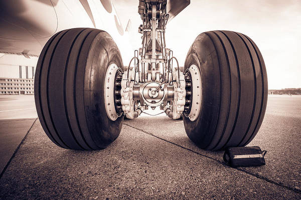 Landing Gear Photograph - Aircraft Landing Gear by Flightlevel80