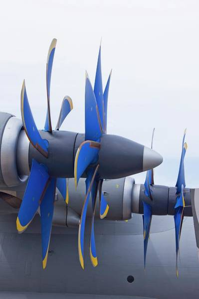 Compressor Photograph - Aircraft Propellers by Mark Williamson/science Photo Library