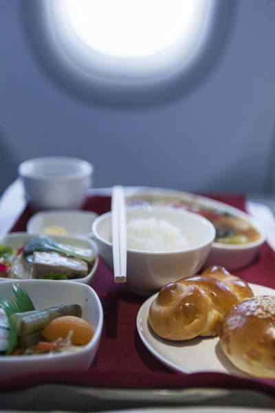 Airline Meal, Business Class Art Print by Shui Ta Shan