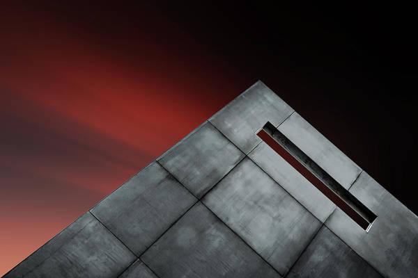 Hole Wall Art - Photograph - Airmail Box by Gilbert Claes