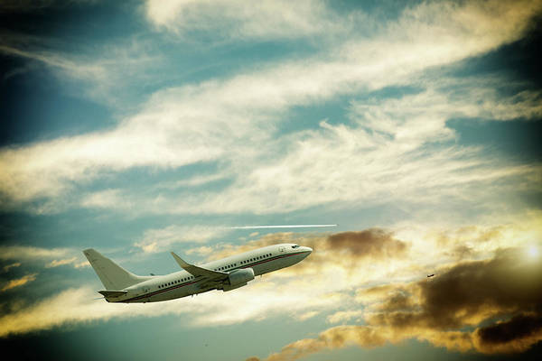 Arrival Photograph - Airplane by 101cats