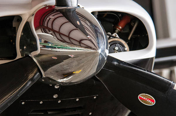 Photograph - Airplane Nose Cone by Andy Crawford