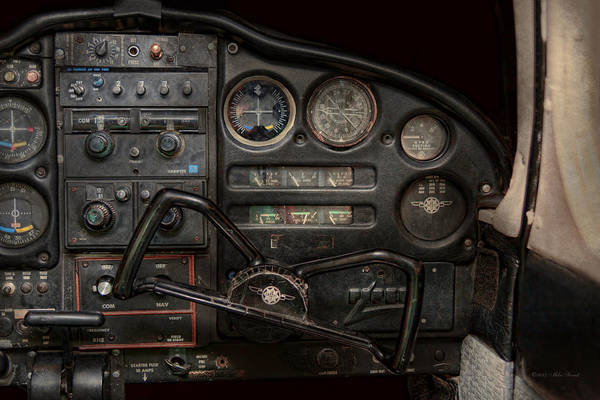 Photograph - Airplane - Piper Pa-28 Cherokee Warrior - A Warriors View by Mike Savad