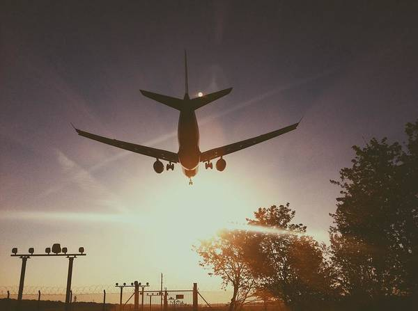 Taking Off Photograph - Airplane Taking Off by Danilo Bittorf / Eyeem