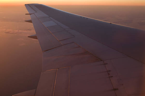 Photograph - Airplane Wing by Mark Harmel