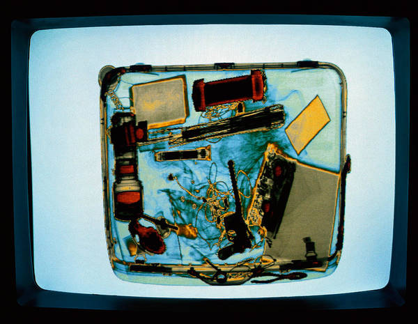 Wall Art - Photograph - Airport Security by Alexander Tsiaras