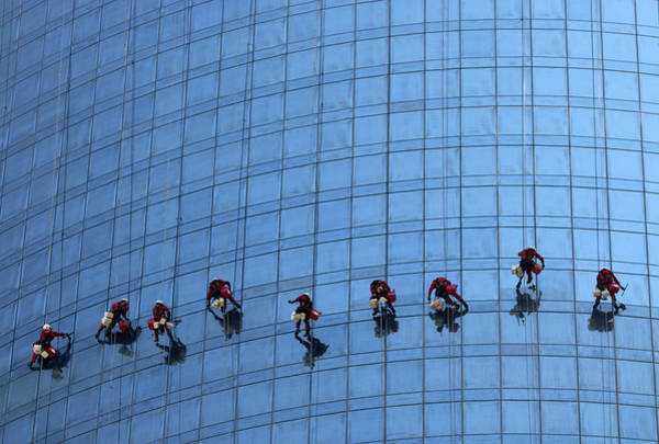 Extreme Photograph - Airy Workplace by Hans-wolfgang Hawerkamp