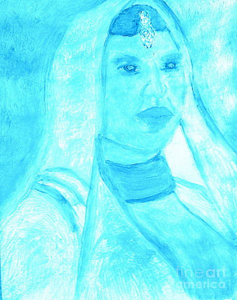 Bollywood Wall Art - Painting - Honoring Aishwarya Rai Bachchan Most Beautiful Woman In The World 2 by Ricardo Richard W Linford