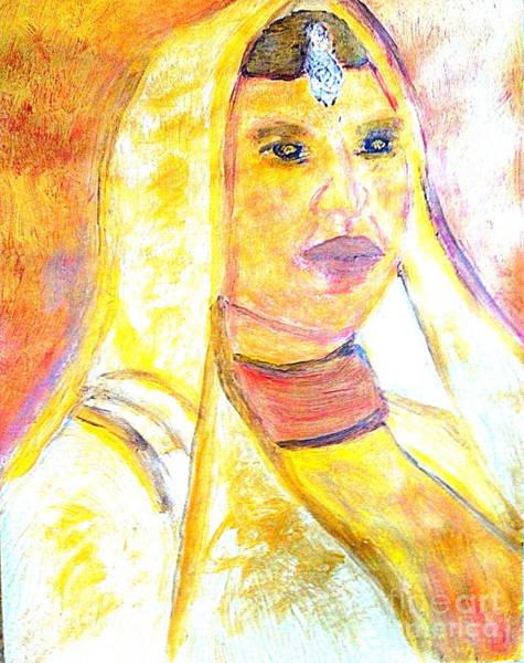 Bollywood Wall Art - Painting - Honoring Aishwarya Rai Bachchan Most Beautiful Woman In The World 3 by Ricardo Richard W Linford