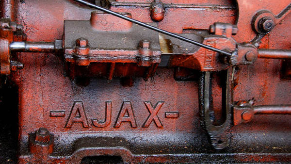 Photograph - Ajax Engine by Trever Miller
