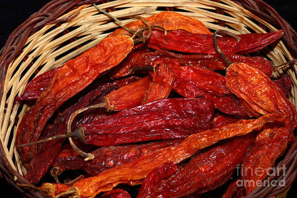 Photograph - Aji Chilis by James Brunker