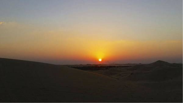 Al Ain Desert 15 Art Print