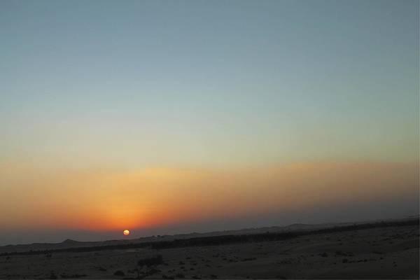 Al Ain Desert 2 Art Print