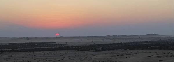 Al Ain Desert 7 Art Print