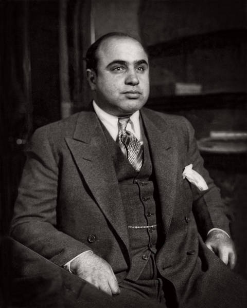 Photograph - Al Capone - Scarface by Doc Braham