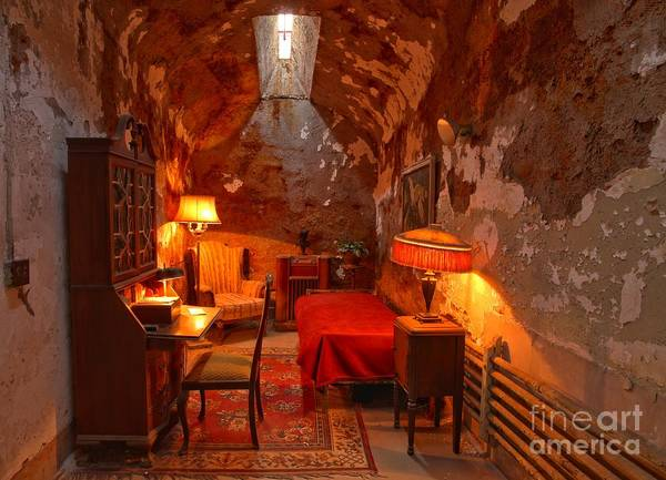 Photograph - Al Capone's Jail Cell by Adam Jewell