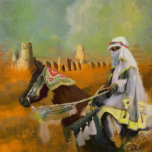 Wall Art - Painting - Al Jahili Fort - C by Corporate Art Task Force