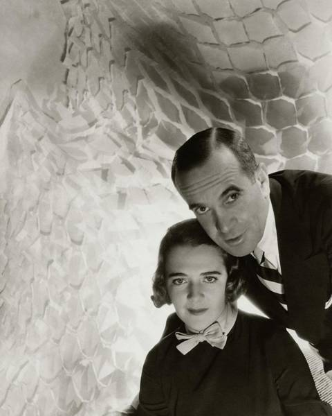 Photograph - Al Jolson And Ruby Keeler by Cecil Beaton