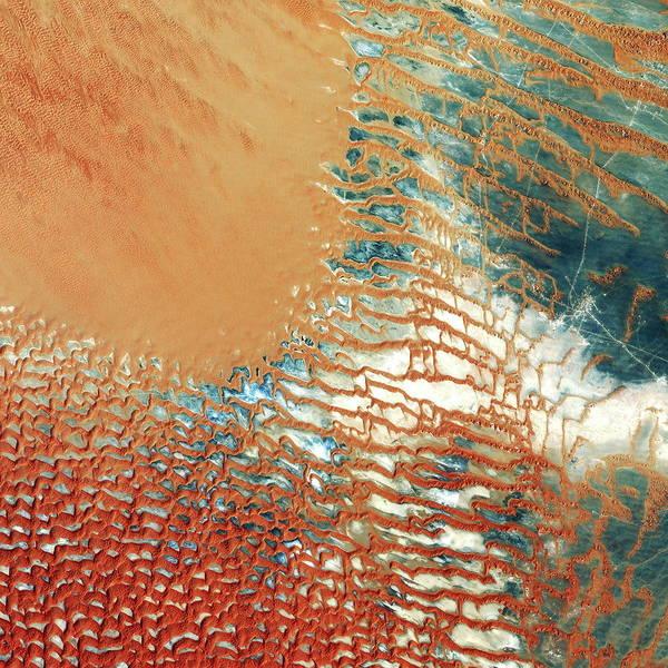 Wall Art - Photograph - Al Kidan Desert by Planetobserver/science Photo Library