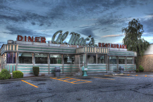 Mac Photograph - Al Mac's Diner by Andrew Pacheco