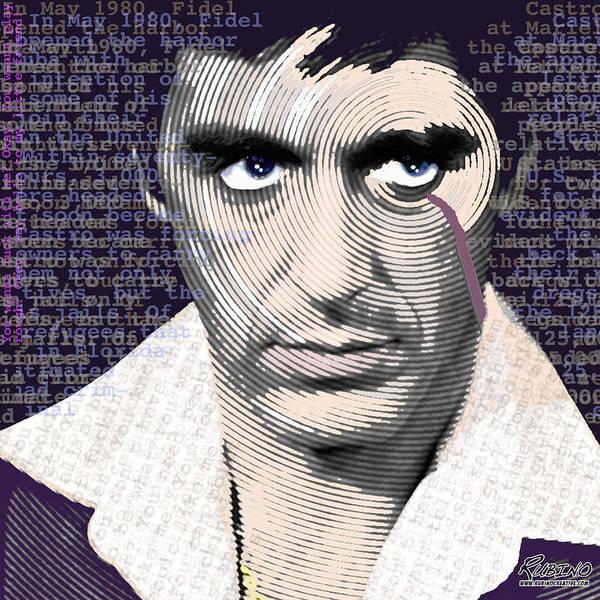 Painting - Al Pacino Again by Tony Rubino
