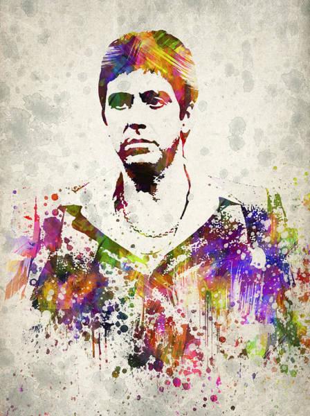 Tony Digital Art - Al Pacino by Aged Pixel
