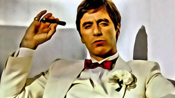 Painting - Al Pacino by Florian Rodarte