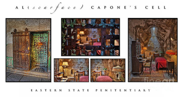 Photograph - Al Scarface Capone's Cell by Susan Candelario