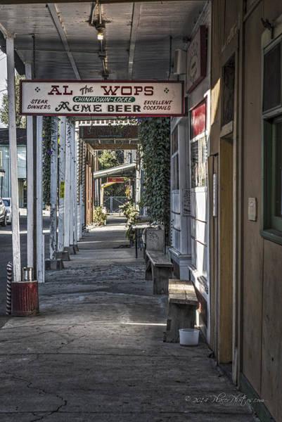 Photograph - Al The Wop's by Jim Thompson