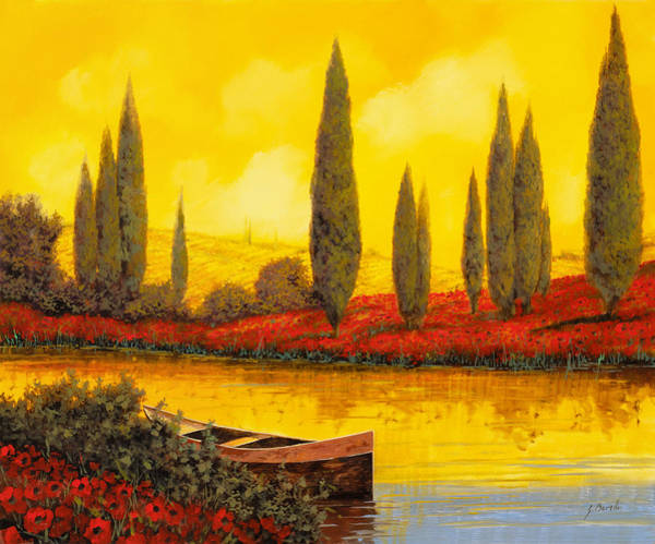 Wall Art - Painting - Al Tramonto by Guido Borelli