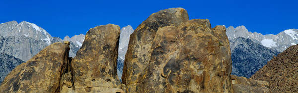 Escarpment Photograph - Alabama Hills In Sierra Nevada by Panoramic Images