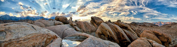 Photograph - Alabama Hills Sunset by Cat Connor
