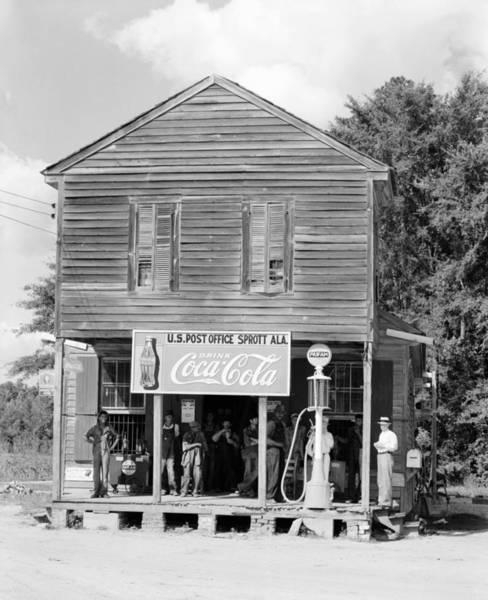 Wall Art - Photograph - Alabama Post Office by Granger