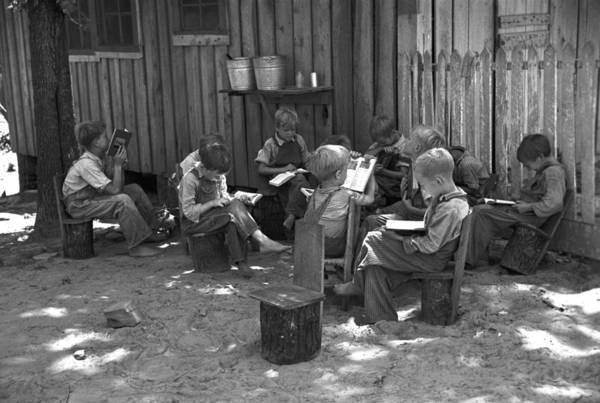 Photograph - Alabama School, 1936 by Granger