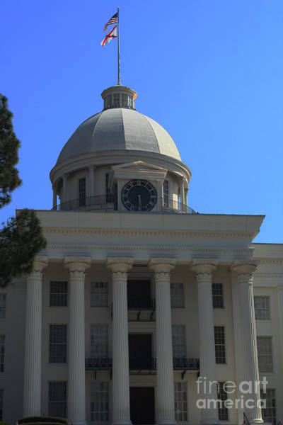 Photograph - Alabama State Capital Building by Lesa Fine