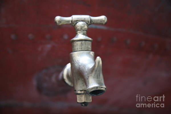 Faucet Photograph - Alambic Tap by Lynn England