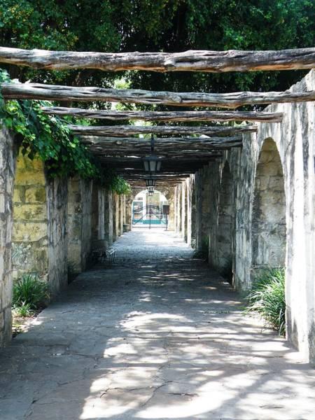 Photograph - Alamo Corridor by The GYPSY