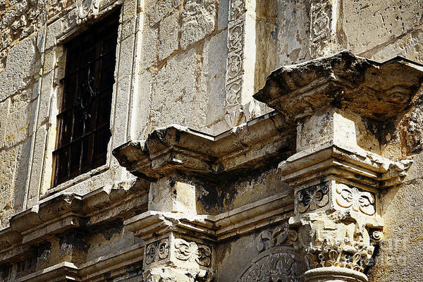 Photograph - Alamo Detail 2 by Lincoln Rogers