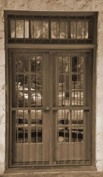 Digital Art - Alamo Door by Kirt Tisdale