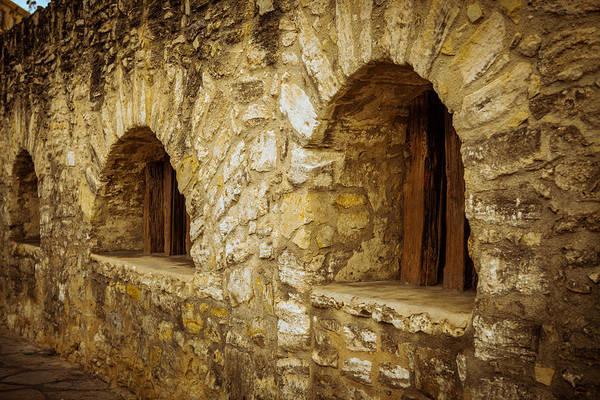 Photograph - Alamo Stone Barracks by Melinda Ledsome