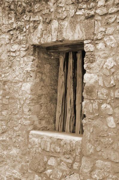 Digital Art - Alamo Window by Kirt Tisdale