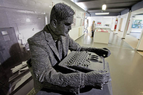 Code Breaker Wall Art - Photograph - Alan Turing by Keith Griffiths
