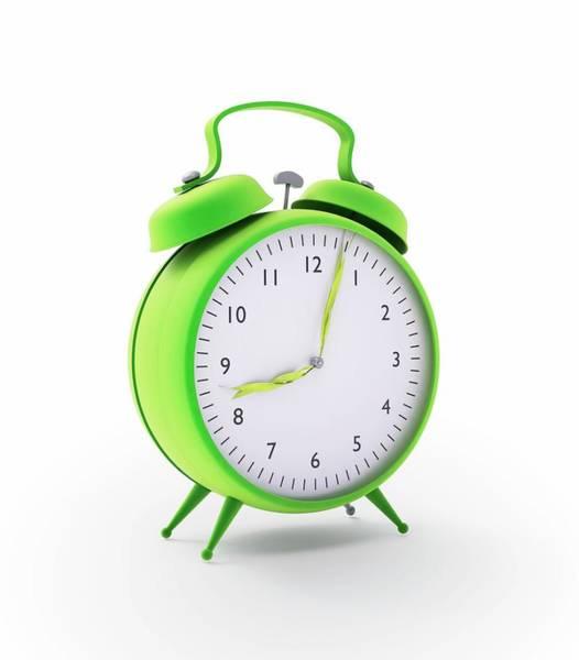 Alarm Clock Photograph - Alarm Clock by Andrzej Wojcicki/science Photo Library