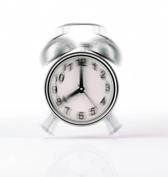 Wake Up Photograph - Alarm Clock by Leonello Calvetti/science Photo Library